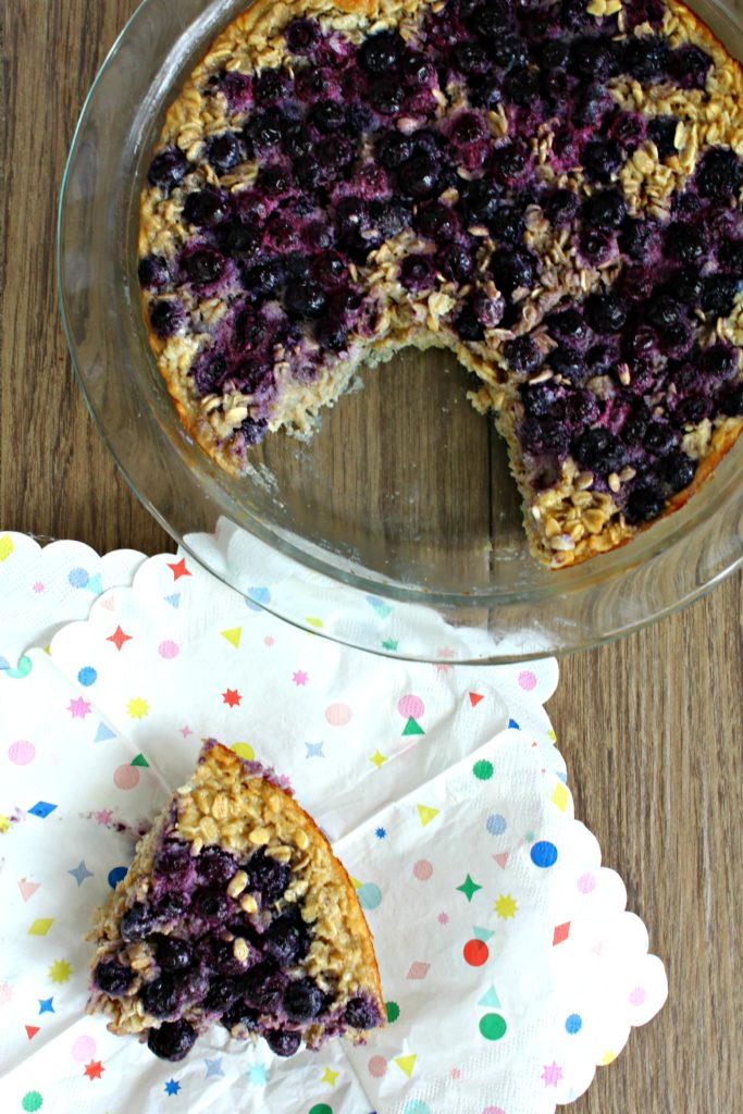 Blueberry Cake Free From Added Sugar